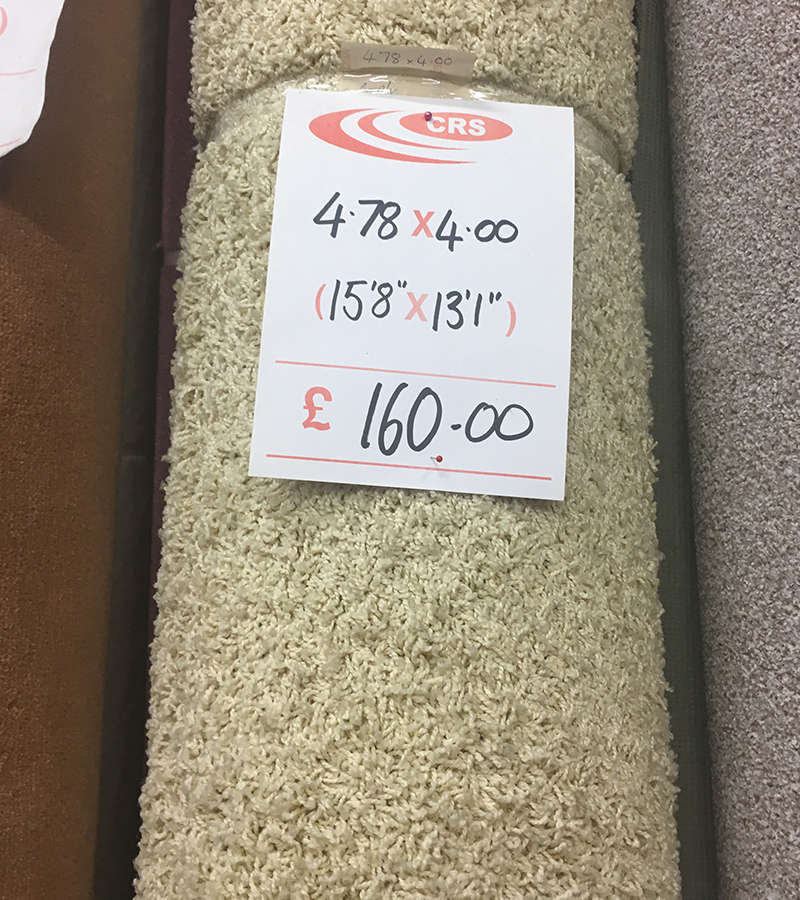 Clearance Carpet Roll Supplies