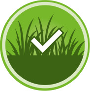 Check the artificial grass for any production defects.
